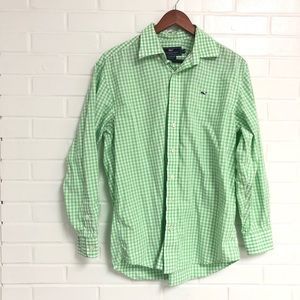 Vineyard Vines Medium Button Down Long Sleeve Top